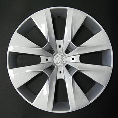 Wheeltrims Set de 4 embellecedores Peugeot 208 2012> con Llantas Originales de 15