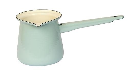 Dexam Enamelled Steel Vintage Home Turkish Coffeepot, Sage