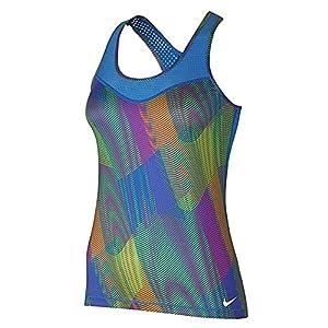 Nike Womens Dri-Fit Perforated Tank Top Multi XS