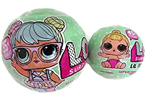 Bundle of Lets Be Friends! - Series 2 LOL Surprise Doll and Her Lil Sister from MGA Entertainment, Inc.