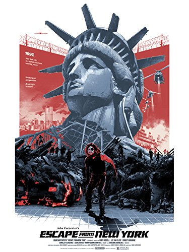 Escape from New York 1981 Movie Snake Plissken 32x24 Print Poster