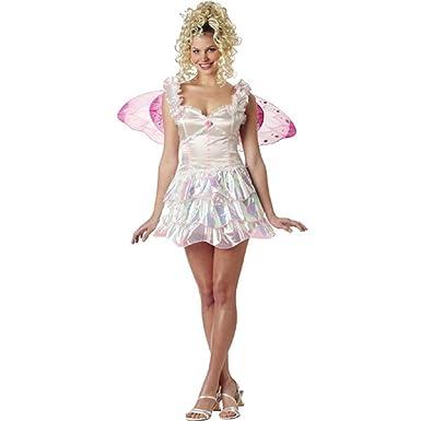 Amazon.com: Adulto Pixie hada disfraz pequeño 6 – 8: Clothing