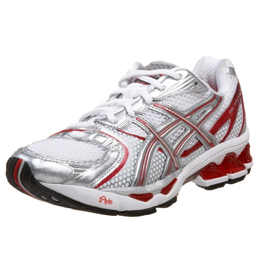 ASICS Women's GEL-Kayano 15 Running Shoe - White Lightning Flash - 7.5 B US