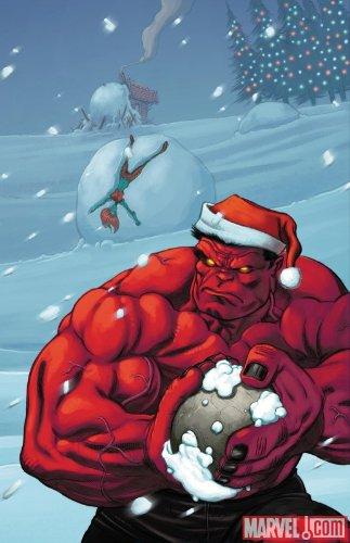 Hulk #18 McGuinness Santa Variant Cover (Hulk) (Hulk)