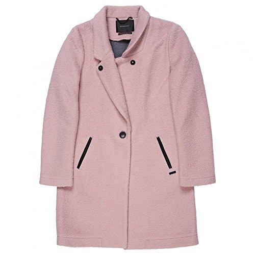 Maison Scotch Long Grey Coat Combo B