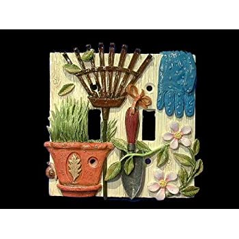 Garden Gate Light Switch Cover  Switch Plates  Amazon.com