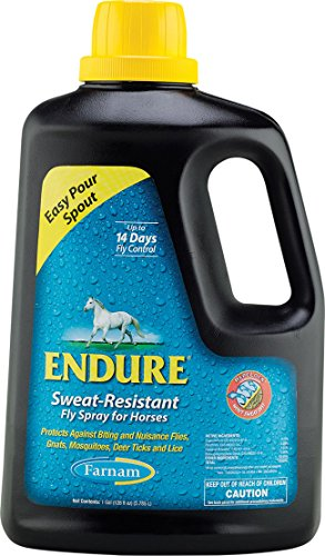 ENDURE SWEAT-RESISTANT FLY SPRAY FOR HORSES - 1 GALLON - Endure Fly Spray