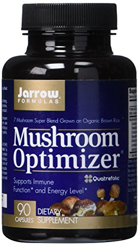 Jarrow Formulas Mushroom Optimizer, Supports Immune Function* and Energy Level*, 90 Capsules (Energy Support Formula)