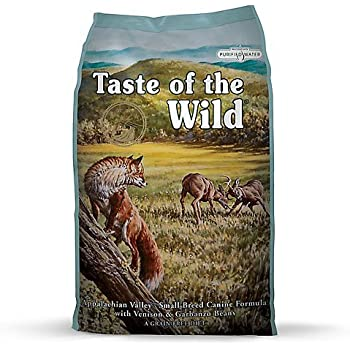 Taste of the Wild Tow Appalachian Dry Food for Small Breed Dogs, 14 lb