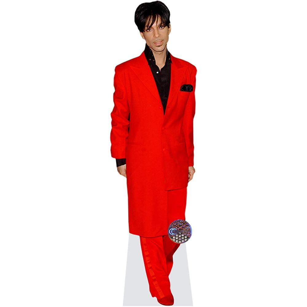 Life Size Cutout Red Suit Prince