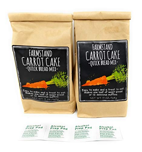 - Farmstand Carrot Cake - Quick Bread Mix - 13ox - Pack of 2 BUNDLE