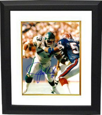 - Joe Klecko Signed Autograph New York Jets 8x10 Photo Framed Photo - vs Bills-New York Sack Exchange