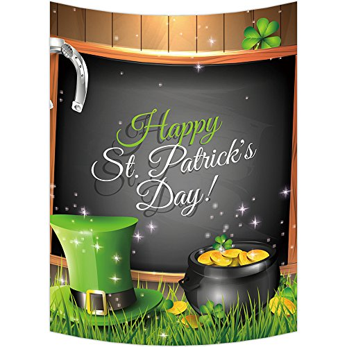 Custom St. Patrick's Day Wall Art Tapestries Home Decor Wall Hanging Tapestry Size 60