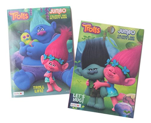 DreamWorks Trolls 2Pack Coloring Book