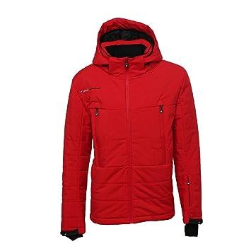 Peak Mountain - Chaqueta de ski Hombre Calico-Rojo-XL ...