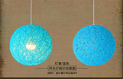 Colored Drum Pendant Lights in US - 5