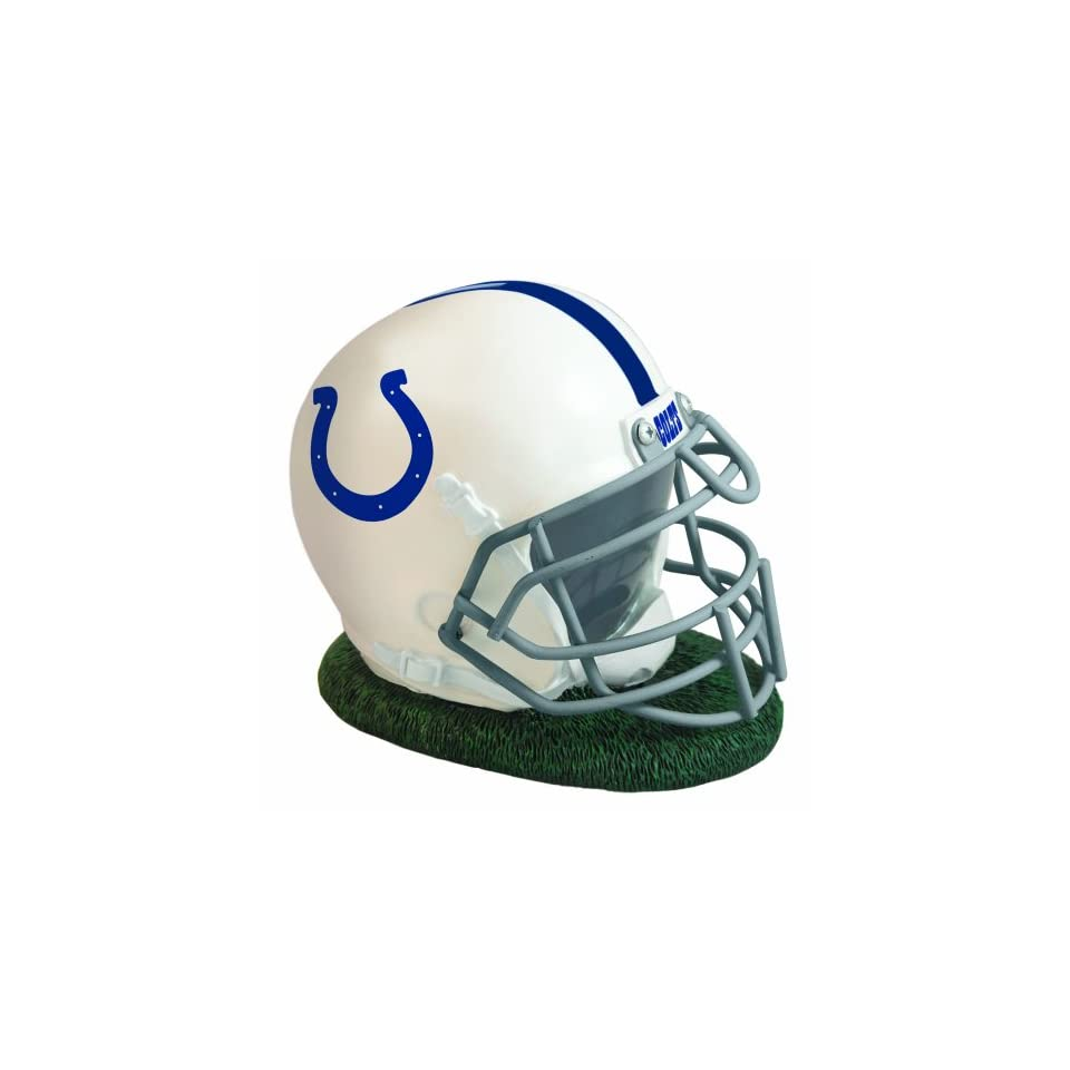 NFL Indianapolis Colts Helmet Shaped Bank  Sports Fan Football Helmets  Sports & Outdoors