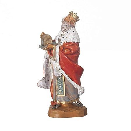 7.5 Inch Scale Fontanini King Melchior Figurine 72814