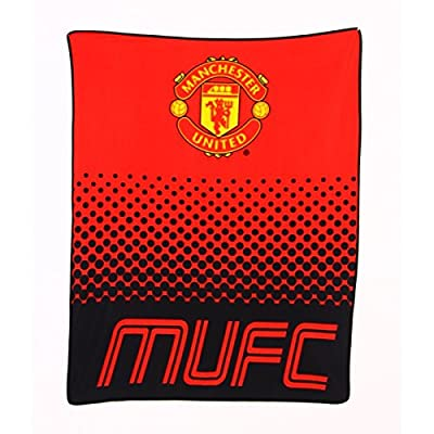 Manchester United Fleece Blanket Officially Licensed