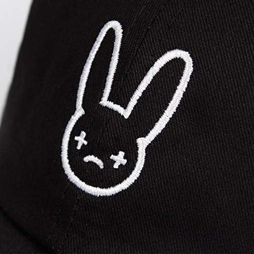 Bad Bunny 100/% Cotton Hat Rapper Reggaeton Artist Dad Hat Snapbacks Unisex Hat