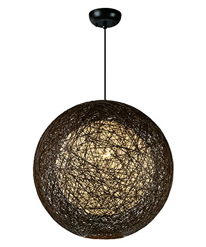 - Maxim 14405CHWT Bali 1-Light Chandelier, Finish, Glass, MB Incandescent Incandescent Bulb , 60W Max., Dry Safety Rating, Standard Dimmable, Steel Mesh Shade Material, Rated Lumens