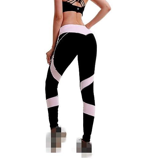 Top Shishang Pantalones de Yoga para Mujer con Medias de ...