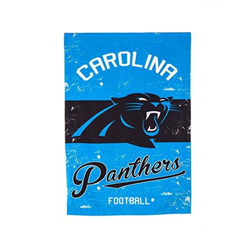 Team Sports America 14L3804VINT Carolina Panthers Vintage Linen