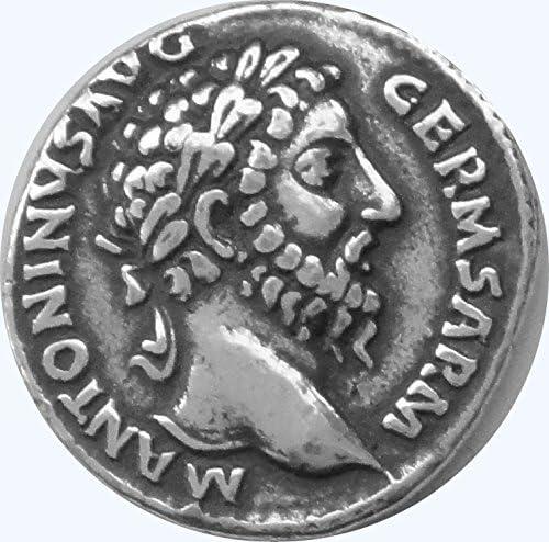 Philosopher King Roman Empiret Pendant 26P-S Roman Coins Golden Artifacts Marcus Aurelius