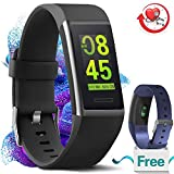 MorePro X-Core Fitness Tracker HR, Waterproof Color Screen Activity Tracker with Heart Rate Blood Pressure Monitor, Smart Wristband Pedometer Watch with Step Calories Counter