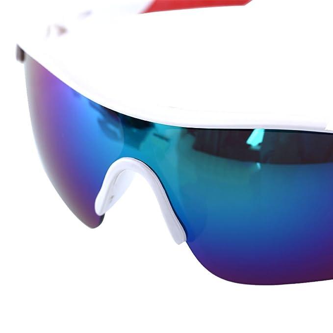 Auntwhale Occhiali da ciclismo in bicicletta Occhiali da sole per occhiali Lente di sicurezza UV400 nuova moda guida EAcUa