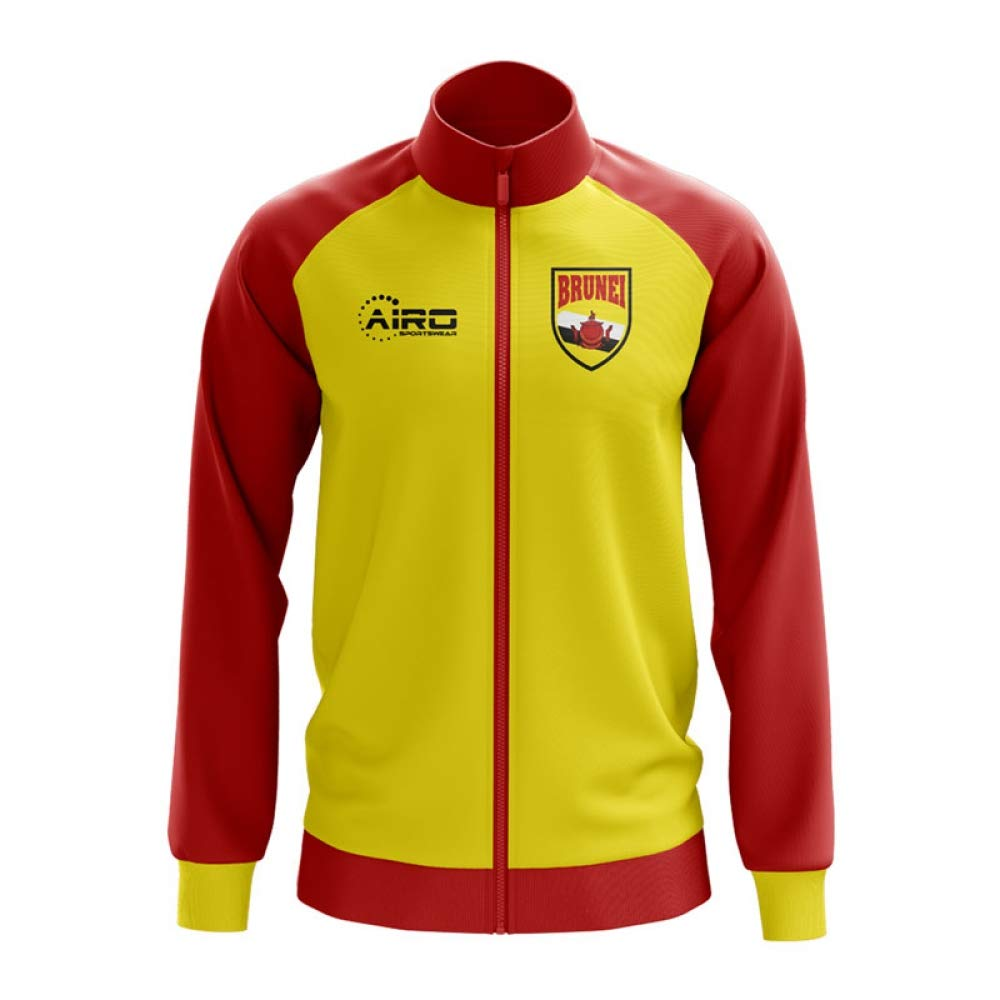 Airo Sportswear Brunei Concept Football Track Jacket (Yellow)