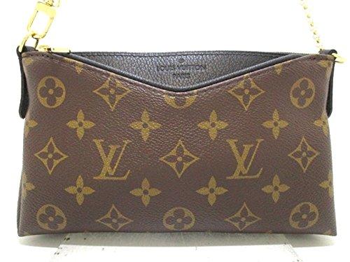 (ルイヴィトン) LOUIS VUITTON クラッチバッグ パラスクラッチ ノワール M41639 【中古】 B07FKLSJ94  -