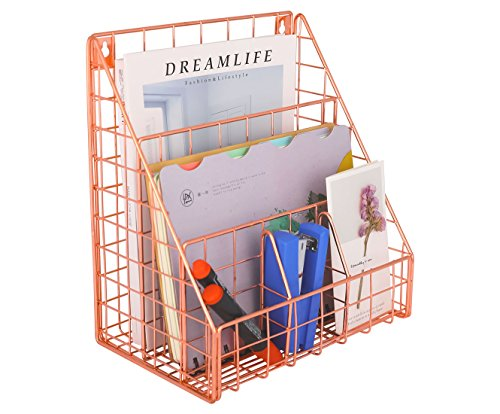 Superbpag Office Desk Organizer, Desk File Organizer Sorter with 5 Sections