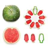Unmengii New Simple Creative Popsicle Model Pepo Watermelon Slicer Cutter Fruit Corer Slicer Kitchen Tools