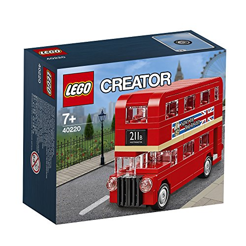 lego creator london bus 40220 speed build brick news network. Black Bedroom Furniture Sets. Home Design Ideas