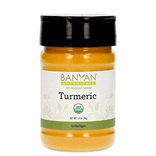 Banyan Botanicals Turmeric Powder – USDA Organic, Spice Jar – Curcuma longa – Traditional Cooking Spice That Promotes Digestion Overall Health, and Well-being