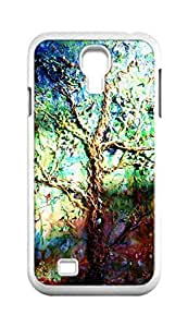 Cool Painting tree of life Snap-on Hard Back Case Cover Shell for Samsung GALAXY S4 I9500 I9502 I9508 I959 -1347