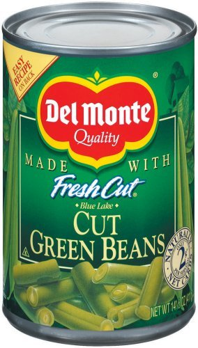 Del Monte Cut Green Beans 14.5 Oz (Pack of 8)