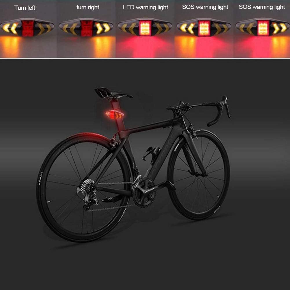 2020 Mountain Bike USB Charging Waterproof Taillight Outdoor Night  Warn Li BP