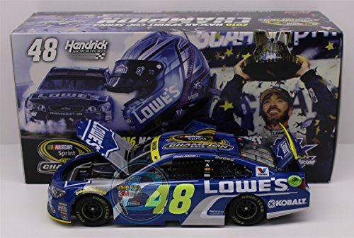 - Lionel Racing Jimmie Johnson #48 Lowe's 7X Champion 2016 Chevrolet SS 1:24 Scale ARC HOTO Official Diecast of the NASCAR Cup Series