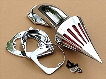 Motorcycle Spike Air Cleaner Intake Filter Kit For Spirit ACE 750 1998-UP Custom Black