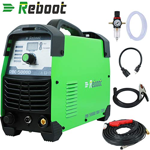 Reboot Plasma Cutter 50Amps 110/220V Dual Voltage Compact Metal Cutter AC 1/2