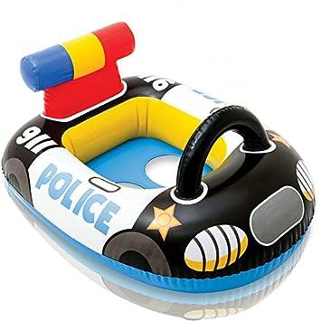 Queta Asiento hinchable para bebé, flotador hinchable, barco de natación, piscina, barco