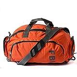 FBI Polyester 19 Inch / 30 Ltr Orange Soft Sided Travel Duffle
