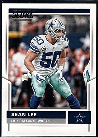 sports shoes 5a6d1 788b4 Amazon.com: 2017 Score #308 Sean Lee Dallas Cowboys Football ...