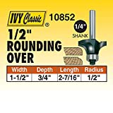 "IVY Classic 10852 1/2"" Radius Rounding Over Carbide"