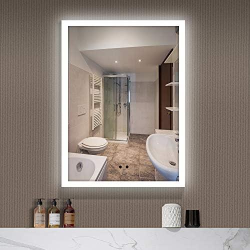 BREADEEP 32×24 Inch Motion Sensor Bathroom Mirror