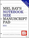 Notebook-Size Manuscript Pad 12-Stave, Mel Bay Publications Incorporated Staff, 1562223976