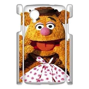 Google Nexus 5 Phone Case White The-Muppets-Fozzy-Bear WE9TY659586