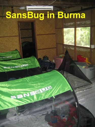 SansBug Free-Standing Pop-Up ... & SansBug Free-Standing Pop-Up Mosquito-Net (Tarp Floor ...